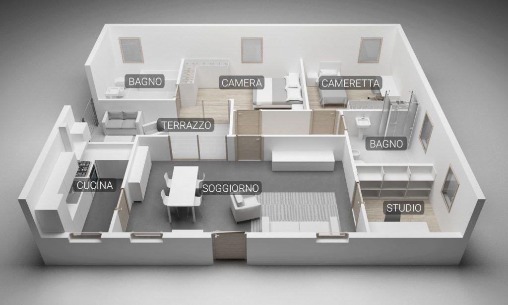 community house pianta 2