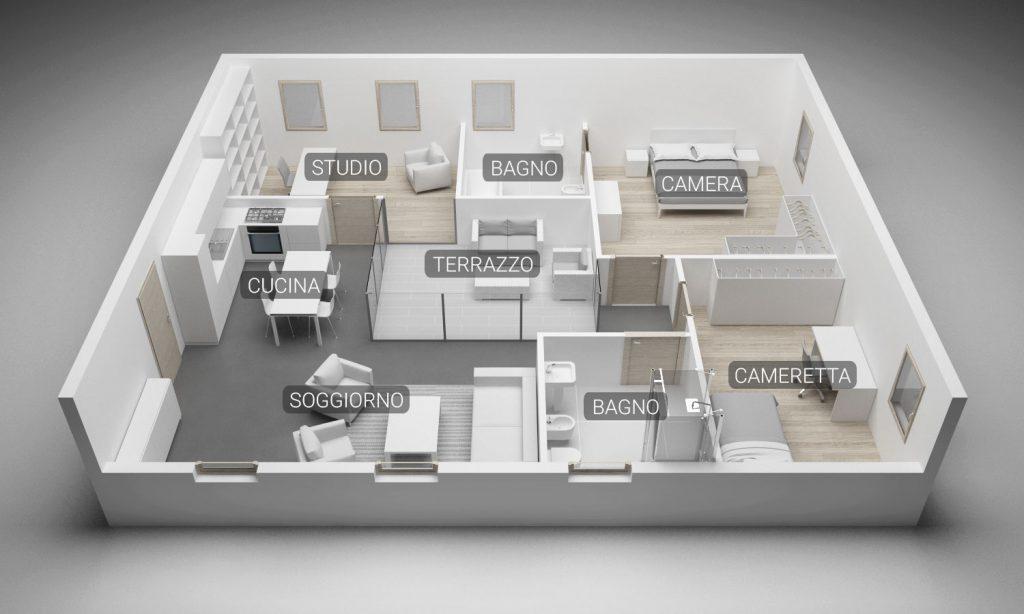 community house pianta 3