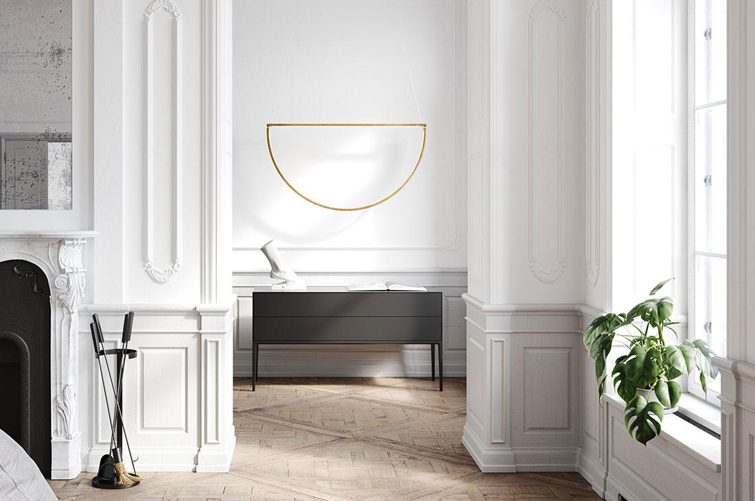 Arredamento Moderno Antico Insieme l'ingresso classico-moderno | a forma di casa
