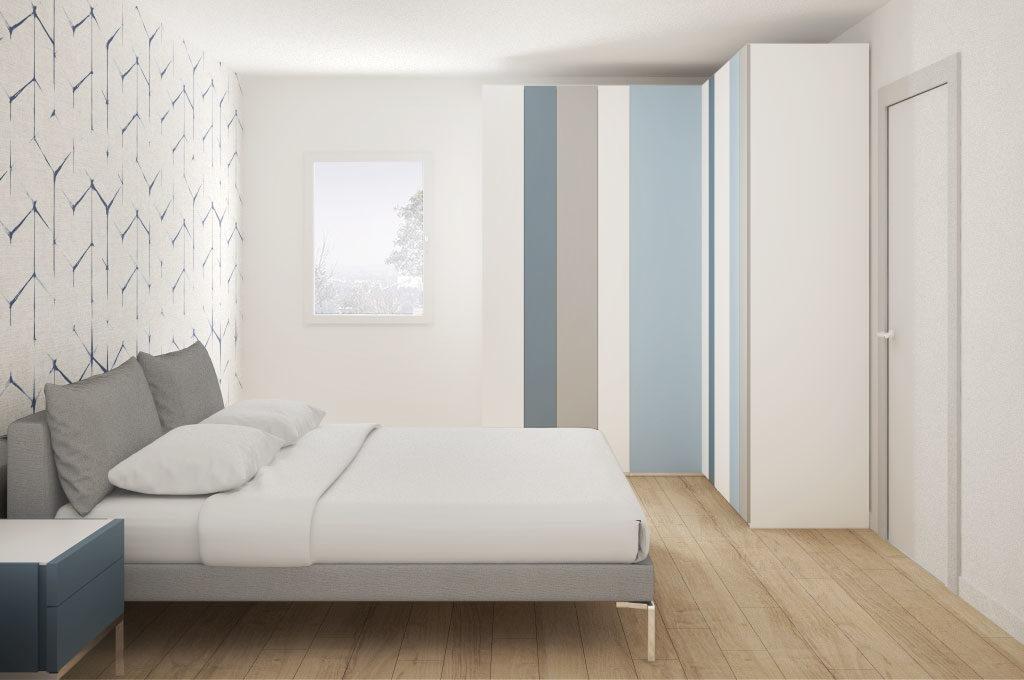 I primi arredi per la camera da letto contemporanea