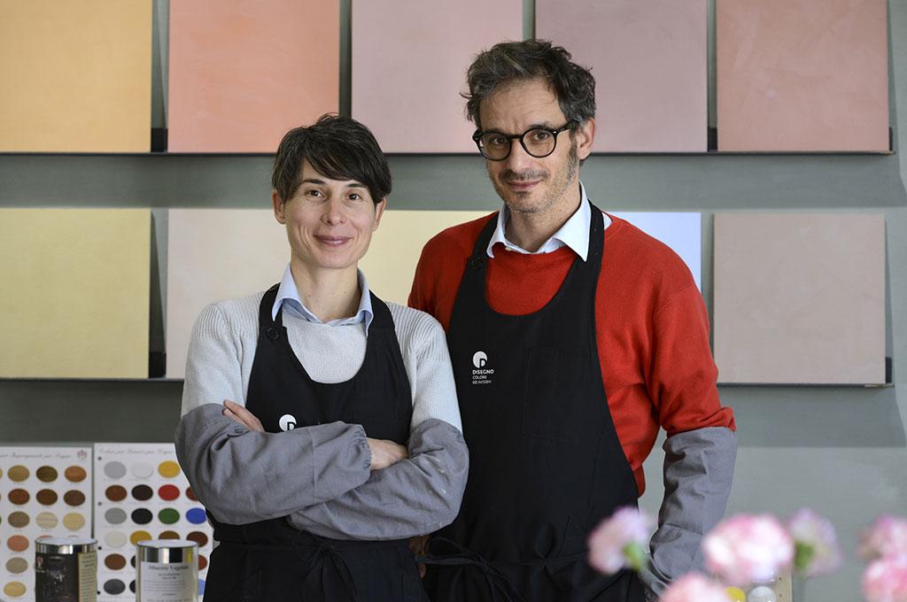 Stefano e Silvia - Disegno colore ed interni