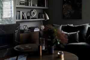 ispirazione dark soggiorno